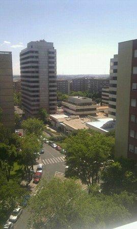 Ayre Gran Hotel Colon: Vista desde la habitación