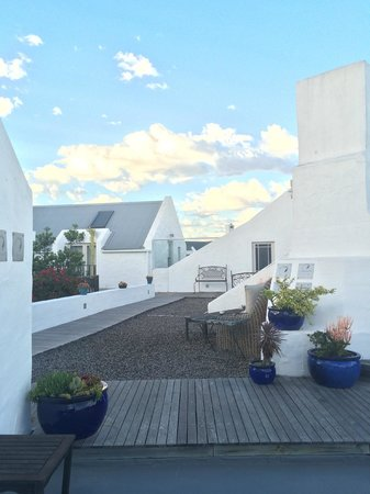 Abalone House & Spa : Roof top area/ Balconies of the  rooms