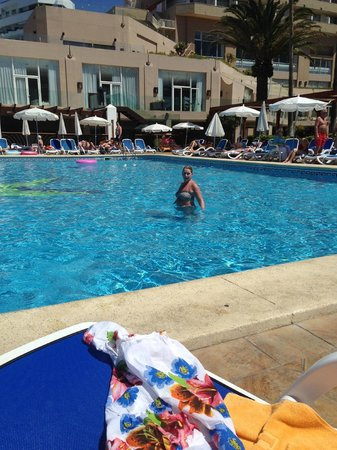 Iberostar Bouganville Playa: Lovely pool area
