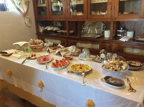 Podere la Marianella : Ontbijt