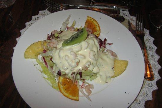 Ristorante Cin Cin : Shrimp and orange salad