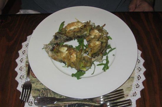 Ristorante Cin Cin : Oysters Gratin