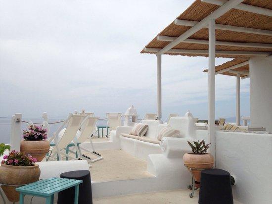 Omiros Hotel: Communal area