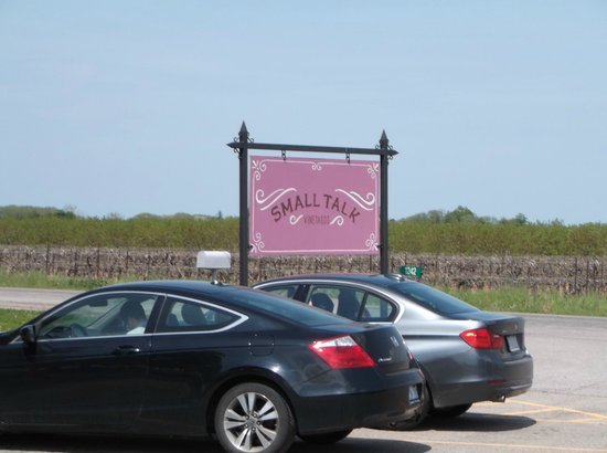Niagara Grape & Wine Tours: Small Talk Winery
