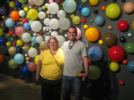 Museum of Glass : Me & Jeremy Bert at his Look! See? Display.