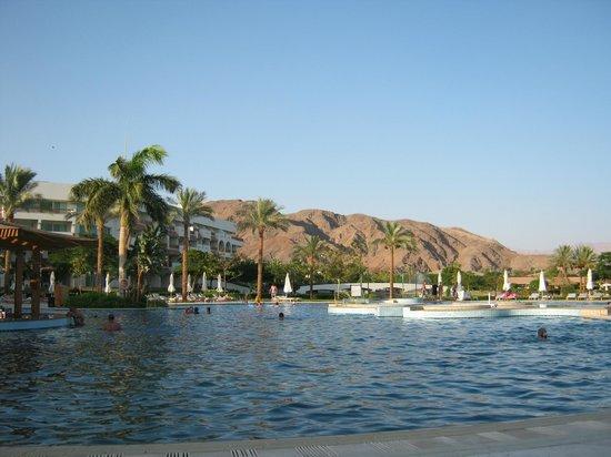 Mövenpick Resort Taba Hotel: teren basenu