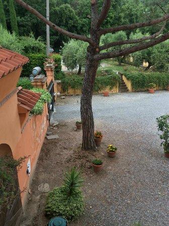 Borgo La Torre: Zijuitzicht uit kamer