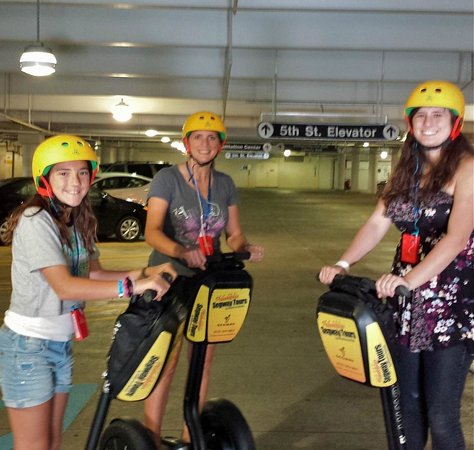 Philadelphia Segway Tours by Wheel Fun Rentals: Having fun on our Segways!