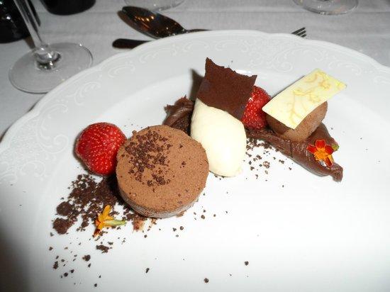 Bjertorp Slott: Dessert