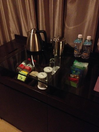 Renhe Hotel: the tea and water corner