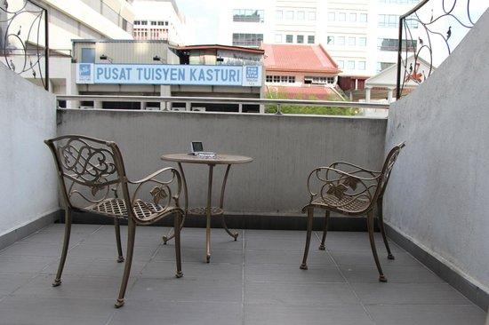 Geo Hotel Kuala Lumpur : balkon