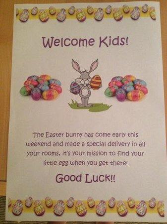 Holiday Inn Gloucester - Cheltenham: a lovely touch at Easter