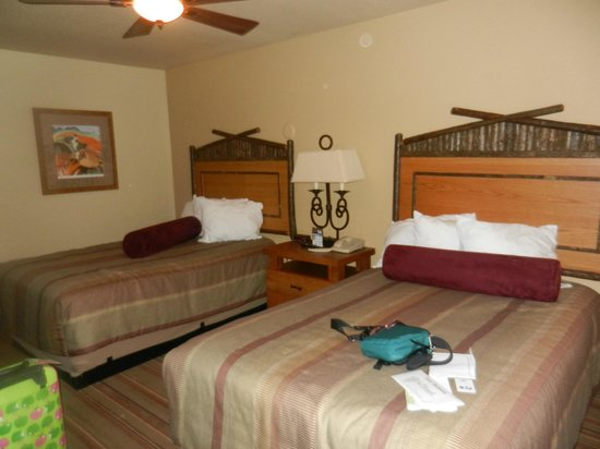 Denali Princess Wilderness Lodge : Double Double Room first floor