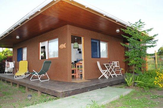 Marae Premium Cabins: Entrance
