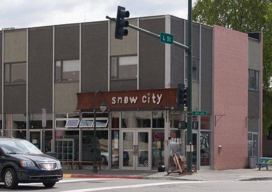 Anchorage Alaska Snow City Cafe