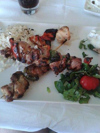 Salt & Pepper: souvlakis lamb