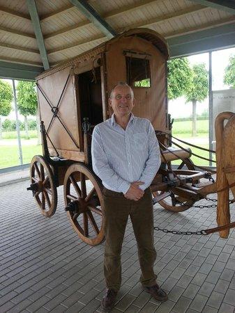 Archaeologiepark Xanten: Roman transport exhibition