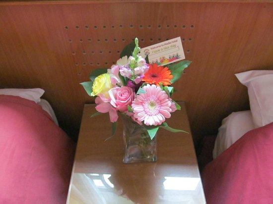 Hotel Nadia: приветственный букет