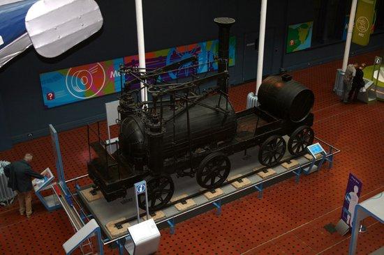 Museo Nacional de Escocia: Locomotive