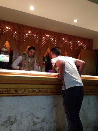 Hotel Marhaba: Mourad, barman in Neptune bar, fantastic lovely guy!