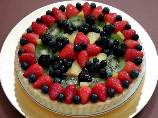 Pastelaria Boutique Lido: tarte de frutas frescas