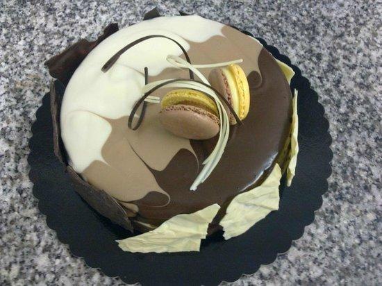 Pastelaria Boutique Lido: bolo chocolate(chocolate cake)