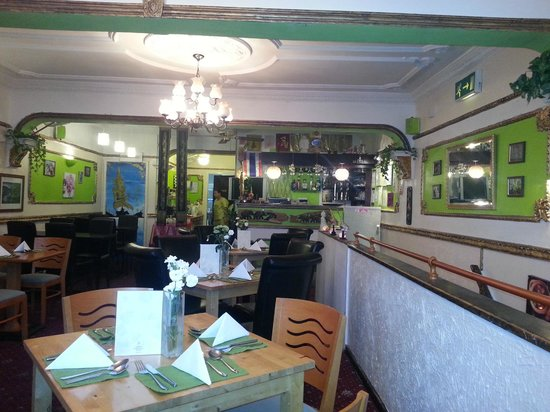 Royal Green Curry Restaurant: Restaurant