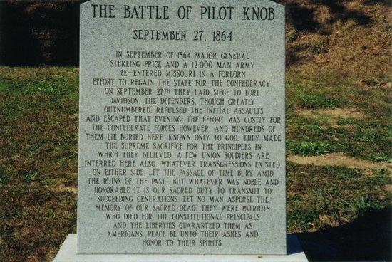 Arcadia Valley: Battle of Pilot Knob