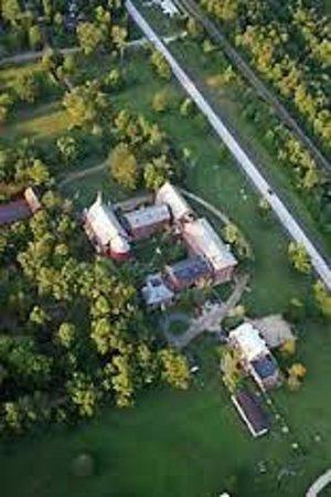 Arcadia Valley: Aerial view Arcadia Academy