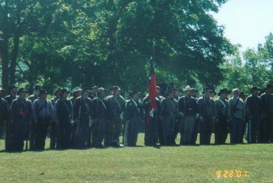 Arcadia Valley: Civil War reenactors at Ft. Davidson