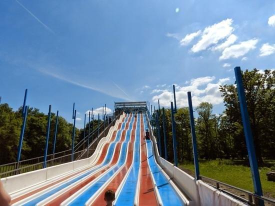 Parc Babyland: Le slalom