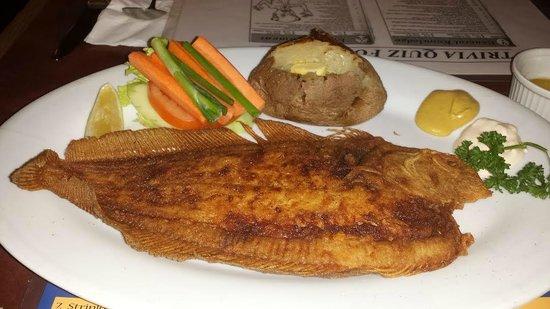 Jake's Charbroil Steaks: Jake's Dover Sole
