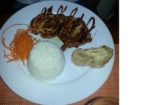 Tipico Bonao : Chicken and rice