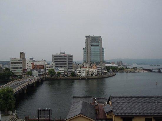 Matsue City Hotel Main: 部屋からの眺め