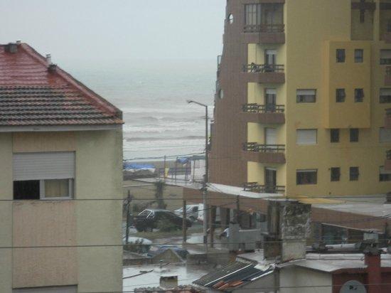 Hotel Chiavari : Dia de lluvia!