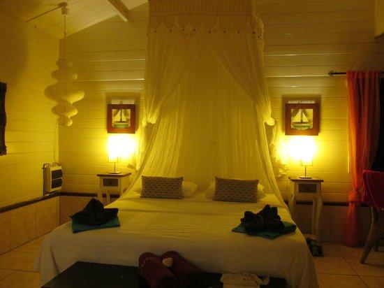 Bamboo Bali Bonaire - Boutique Resort : .el área de dormitorio
