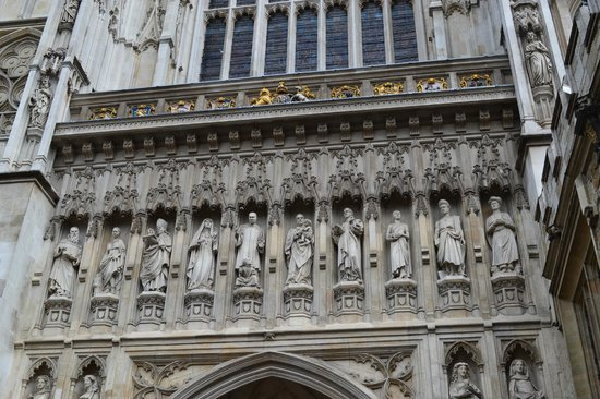 Westminster Abbey The Christian Martyrs above the West doors & The Christian Martyrs above the West doors - Picture of ... pezcame.com