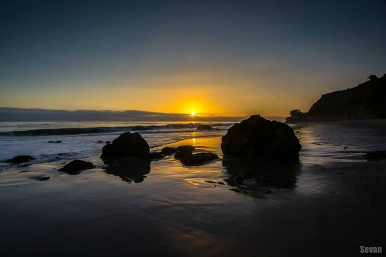 El Matador State Beach: Sunset