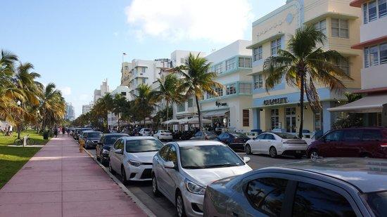 South Beach : Ocean Drive view