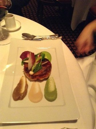 Le Gavroche: vegetarian option yummy
