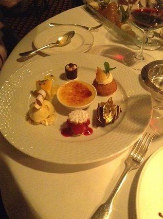 Le Gavroche: sharing desert not likely!
