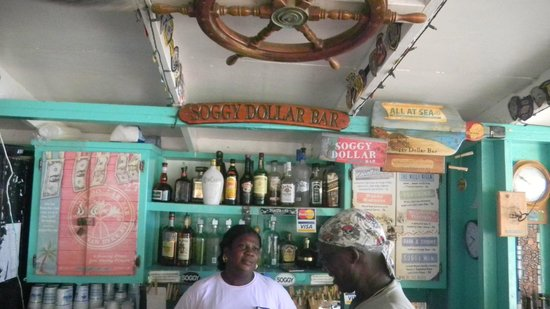 White Bay: Soggy Dollar Bar!!!!