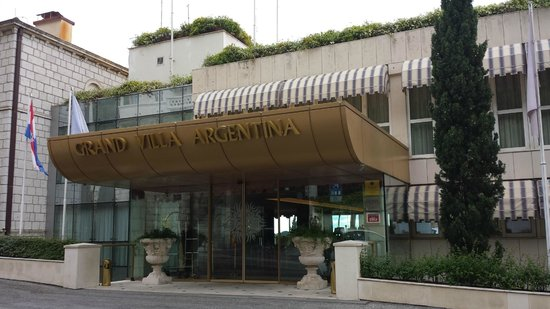 Grand Villa Argentina: Aspecto da fachada