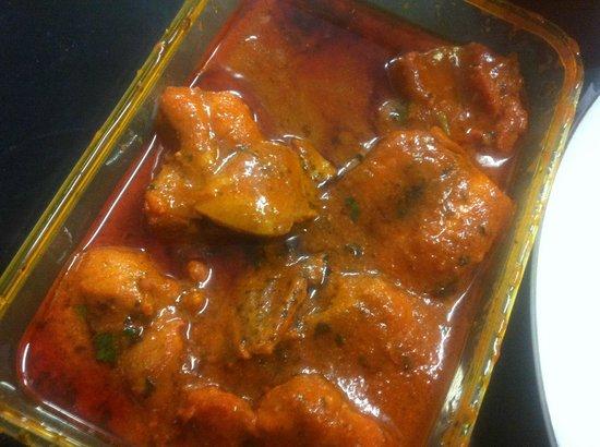 Krishna Indian Restaurant: Chicen Vindaloo