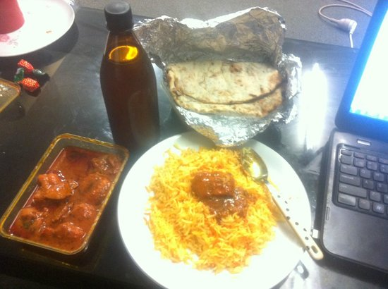 Krishna Indian Restaurant: Meal (with Homemade Cooper's Aussie Pale Ale)