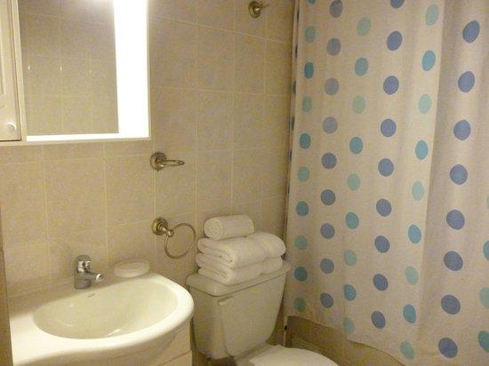 Hotel Iorana Tolache: Baño