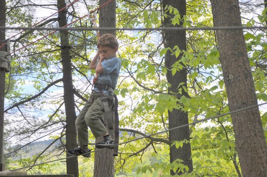Gunstock Mountain Resort: Mastering the ropes course