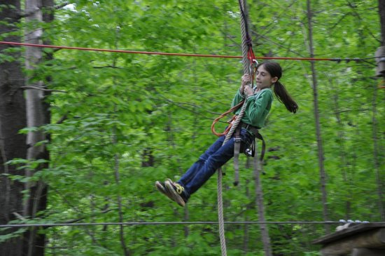 Gunstock Mountain Resort: Swinging through the air