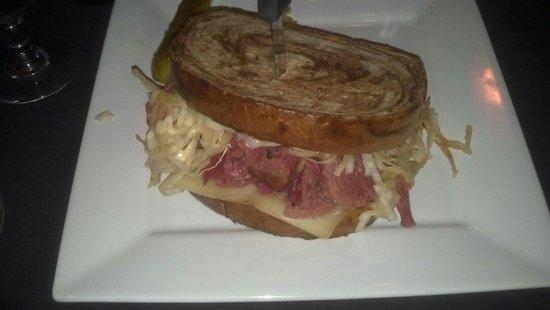 La Calia: Reuben sandwich
