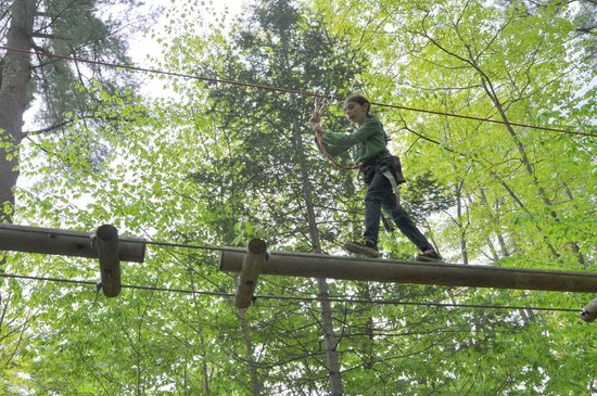 Gunstock Mountain Resort: Striding through the tree tops